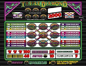 nlg s game library 9 line triple diamond